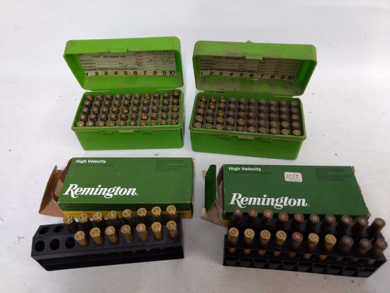 135 Count 222 Rem Brass (needs Cleaned)