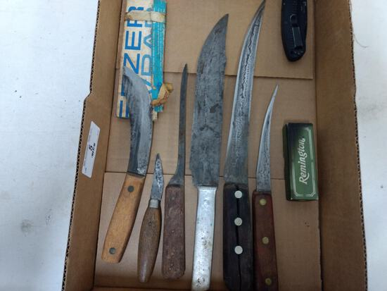 Box Lot Knives