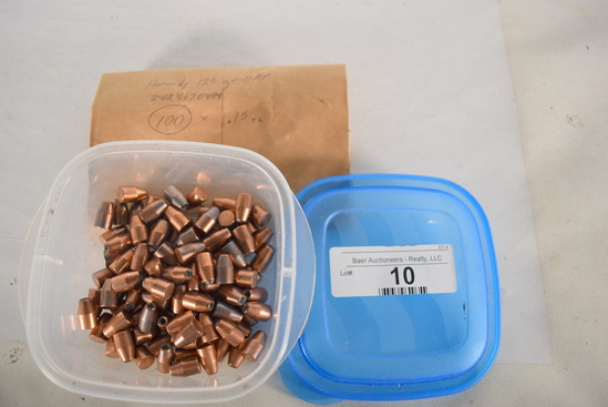 100 Ct. Hornady 125gr 9mm Bullets