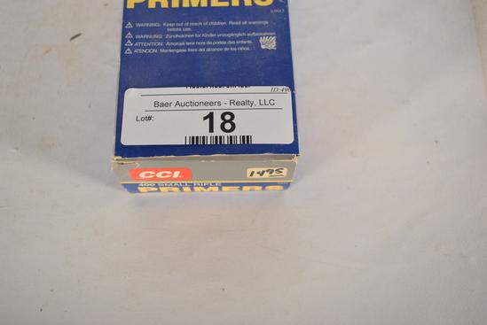 1000 Ct. Cci #400 Small Rifle Primers
