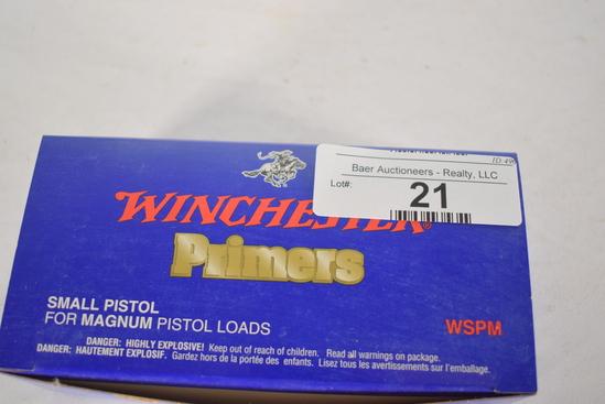 1000 Ct. Winchester Sm. Pistol Primers