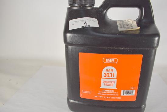 8 Lb Container Imr 3031 Smokeless Powder