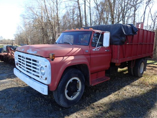 1978 Ford F600 16 Ft Dump Seed Auger