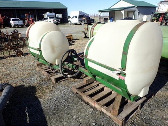 Nixon Saddle Tanks, 200 gal Each
