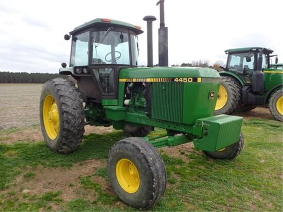 John Deere 4450 2 wheel drive tractor