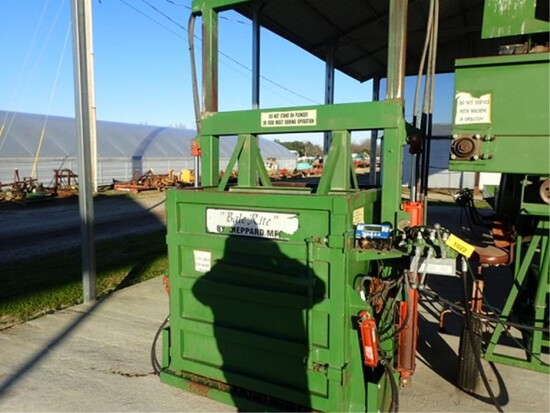 Bale Rite Sheppard Tobacco Baler with Scales
