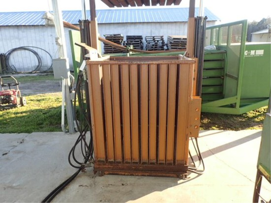 Taylor Tobacco Baler with scales