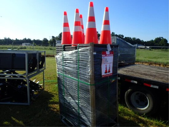 250 Highway Safety Cones