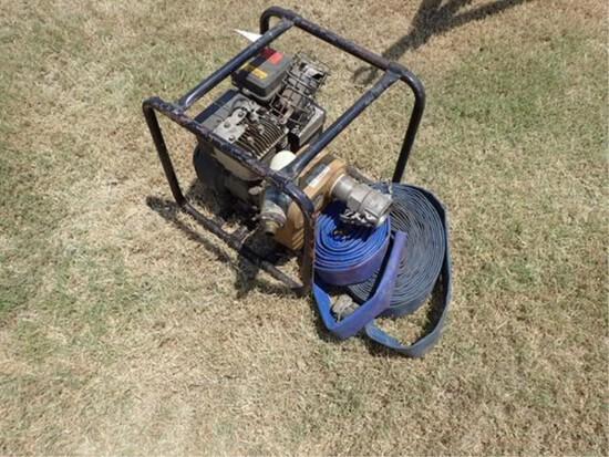 Water Pump w/Briggs & Stratton Shop Motor