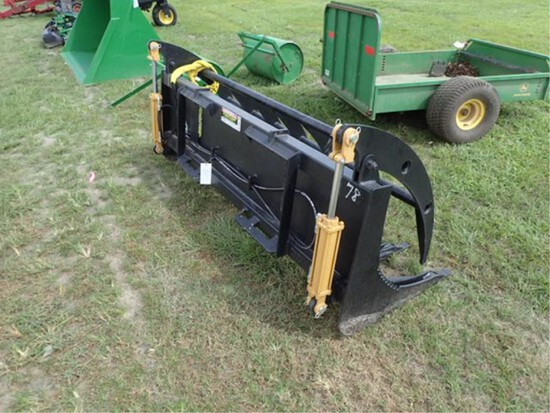 "Skid Steer 78"" Grapple Rake"