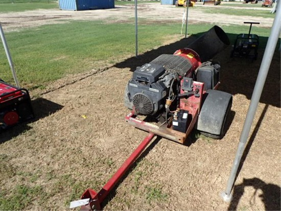 Toro Pro Force Turbine Blower Trailer Type