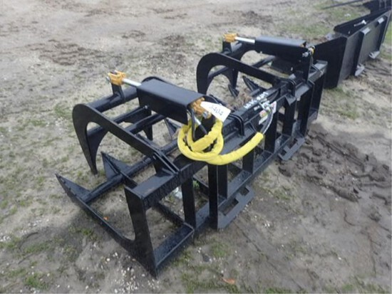 "Quick Hitch 78"" E- Series Root Grapple"