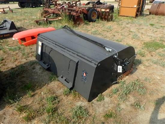 6 Ft. Wolverine Heavy Duty Skid Steer Sweeper
