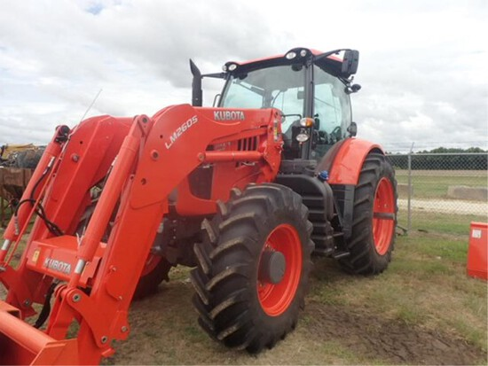 Kubota M7-152 Tractor w/Cab & LNM 2605 Loader