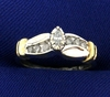 1/5 Ct Tw Diamond Ring In 10k Gold