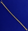 3/4 Carat Diamond Bracelet In 14k Yellow Gold