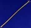 3/4 Carat Diamond Bracelet In 14k Yellow Gold