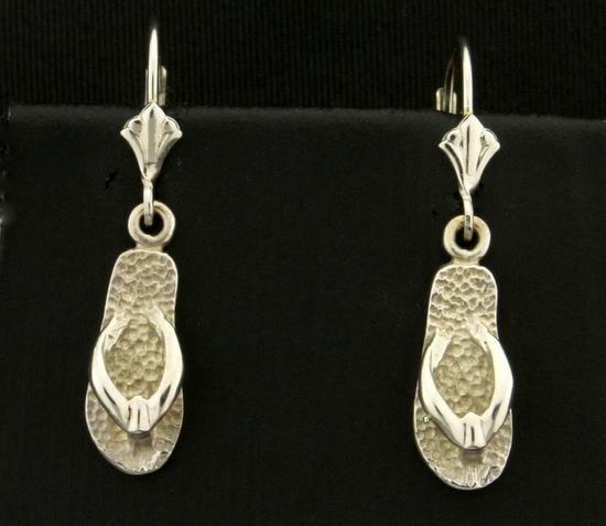 67261e4a3e020 Dangle Flip-flop Earrings In 1... Auctions Online | Proxibid