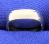 Unique 18k White Gold Square Shaped Band Ring