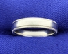 Scott Kay Designer Platinum Wedding Band Ring With Beaded Edge