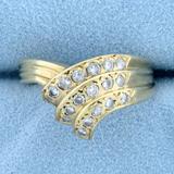 1/3ct Tw Diamond Ring In 14k Yellow Gold