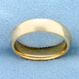 5mm Wedding Band Ring In 14k Yellow Gold