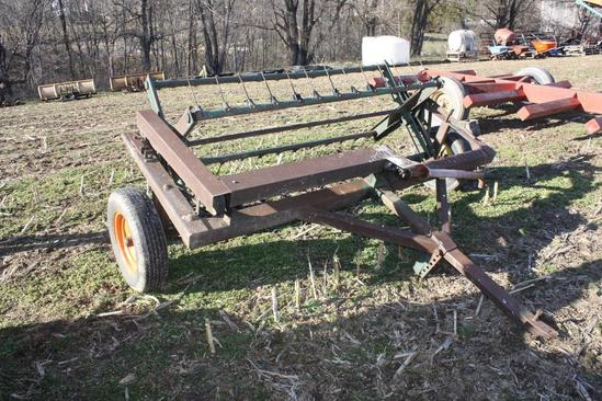 pequea style tedder, pto drive