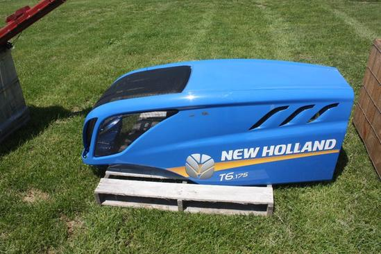 new hood for New Holland T6. 175