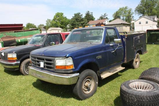 Ford PU, 1996 w 351 Windsor