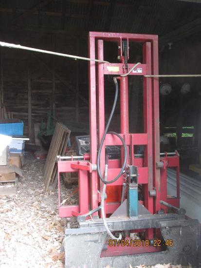 WIFO Model - H280/1600 fork lift mast; originally for 3-point hitch