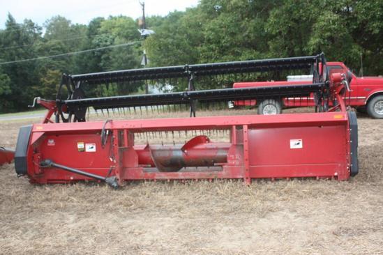 Case/IH 1020 15' flex grain platform / bean head