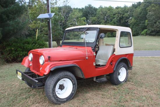 1961 Willy's Jeep, S# 57548123228, 1 owner, 4 cylinder engine