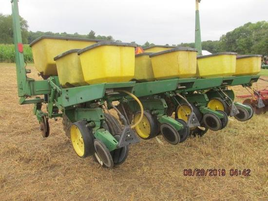 "JD 7000 4 row wide corn planter, 36"" spacing,"