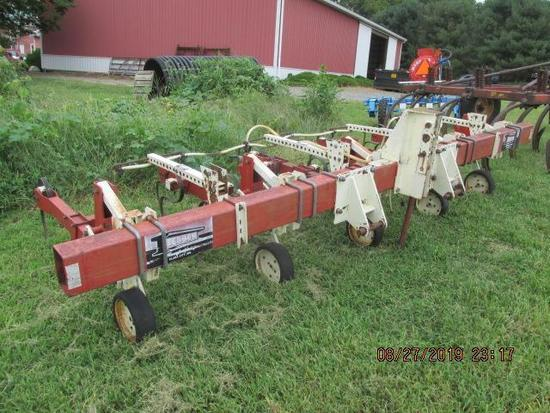 "; Tebben 4 row 36"" (wide) 3 pt spring tine cultivator"