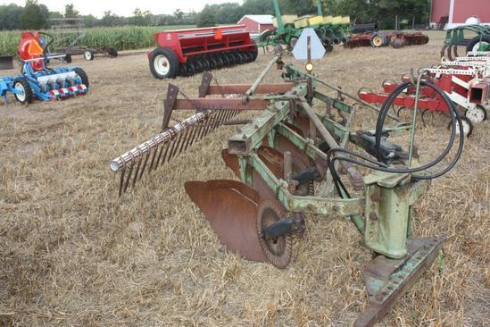 """JD F145 4X 16"""" semi mt plow with busterbar;"""