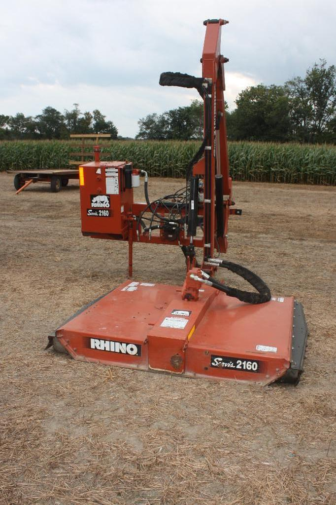 Servis Rhino #2160 side arm, ditch bank mower in excellent condition;