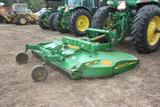 JD HX-10 3 pt. rotary mower with Hyd offset and 10' cut, new blades