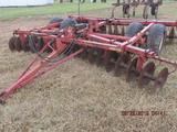 MF # 520 18' transport Disc Harrow in good condition;