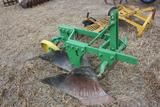 JD 415A 3pt 2X plow, restored cond;