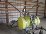 Zimmermann 3 pt spray boom with tank 30'