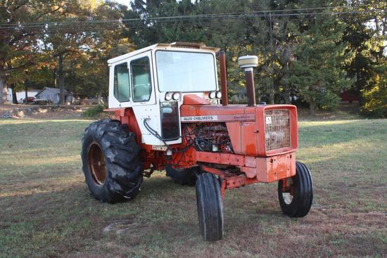 "190XT Cab tractor, bareback with 23.1 X 30"" rear tires"