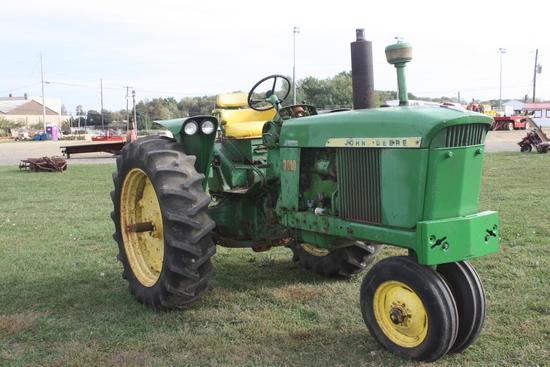 JD 3010 gas, NF, excellent 15.5 rear tires, Front weights;