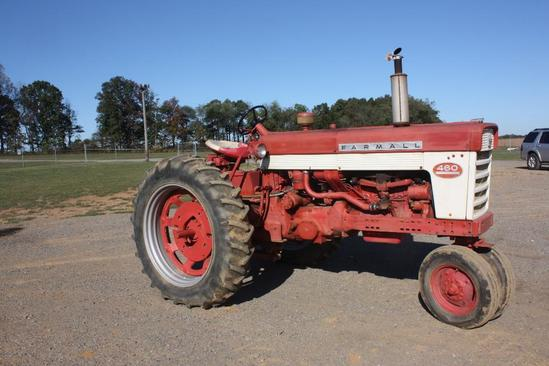 Farmall 460, PS, TA, fast hitch, good runner,