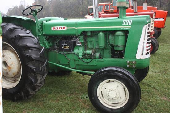 Oliver 990-D Detroit powered,