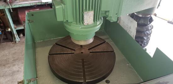 Kwik-way flywheel grinding machine