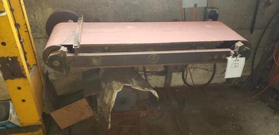 14-in x 46-in custom belt sander