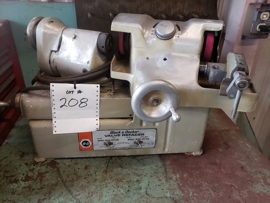 Black and Decker valve refacer