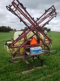 Hardi 3 pt 200 gal 42' field sprayer