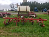 4 row S tine cultivator