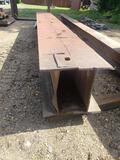 2 I-beams welded together